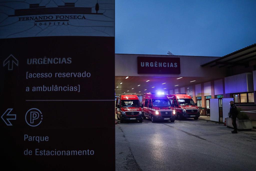 Hospital de Amadora-Sintra Foto: Mário Cruz/Lusa