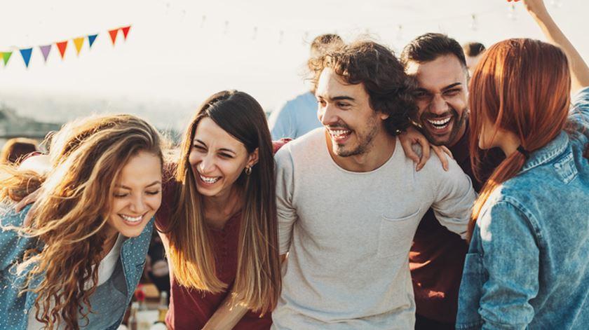 Quem são os seus cinco melhores amigos?