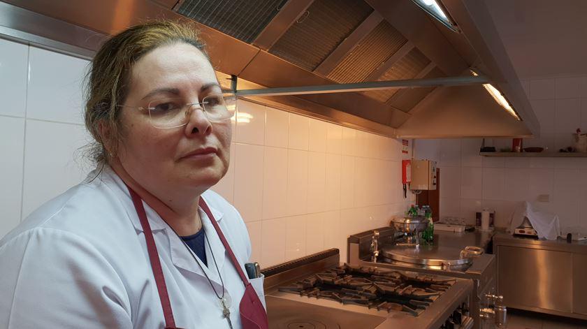Ana Cristina trabalha há mais de duas décadas no colégio de Poiares
