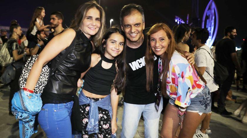 Ana Galvão com público do Rock in Rio Brasil, 2019 Foto: DR