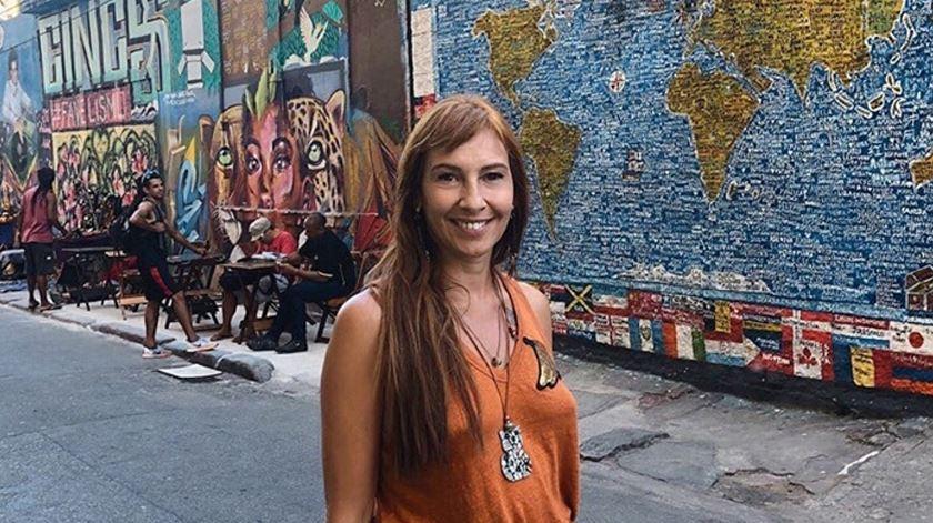 Ana Galvão no Calçadão