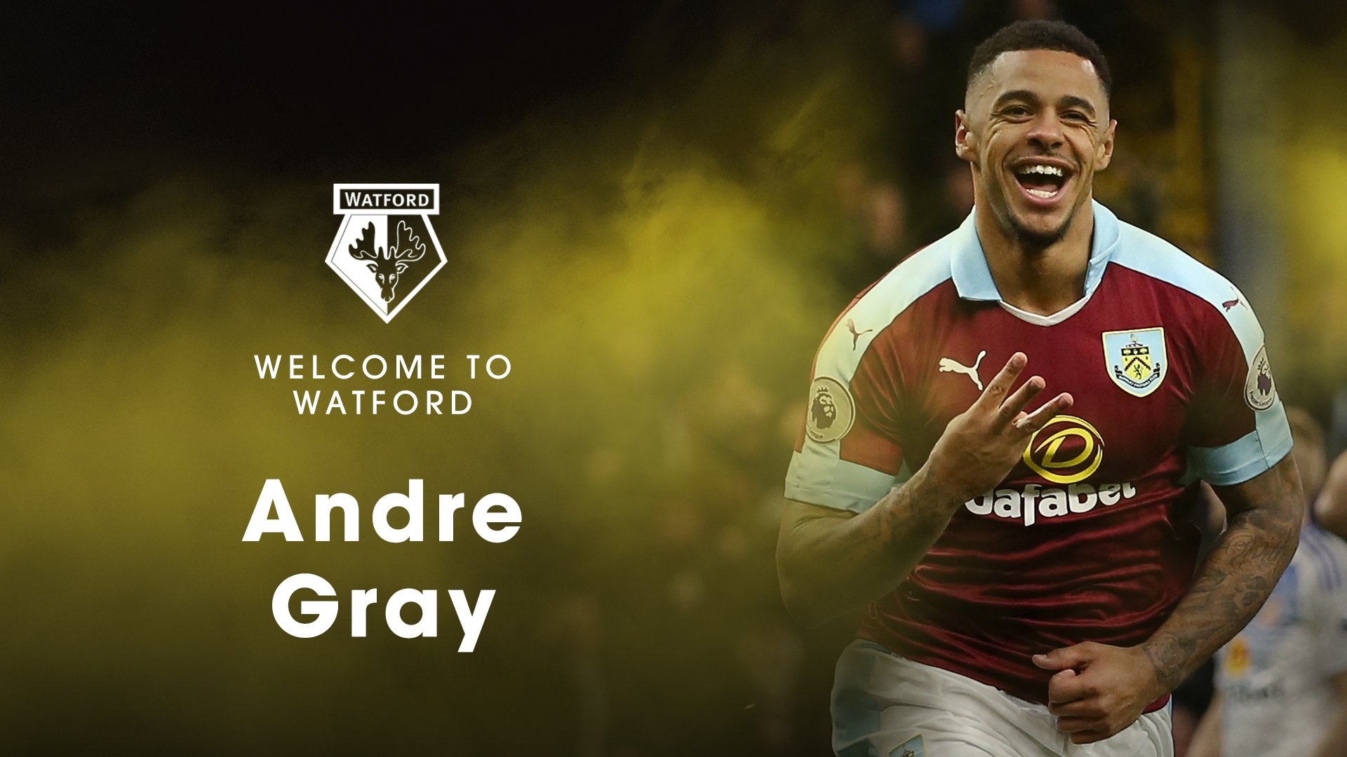 Watford contrata anglo-jamaicano André Gray — Premier League