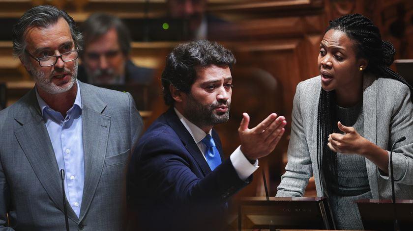 Cotrim, Joacine e Ventura só podem fazer cinco declarações políticas anualmente