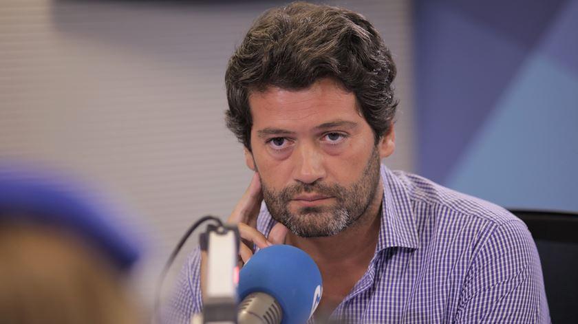 André Ventura, advogado e líder do partido Chega. Foto: Inês Rocha/RR