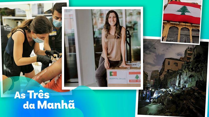 Andreia Castro já está em Beirute - As Três da Manhã