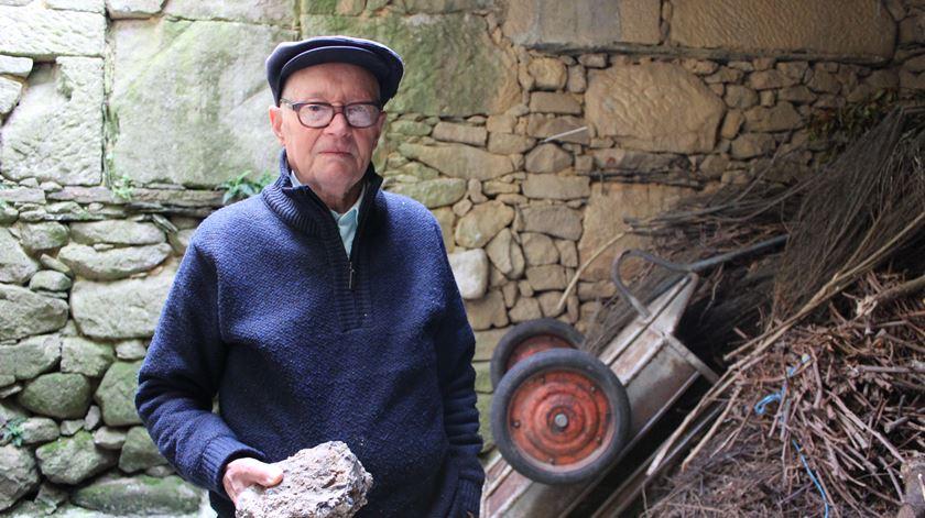 O antigo mineiro Augusto Ferreira da Costa. Foto: Liliana Carona/RR