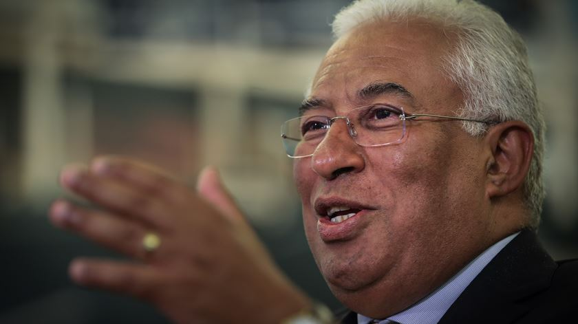António Costa preocupado com desmobilização dos simpatizantes do PS. Foto: Mário Cruz/Lusa