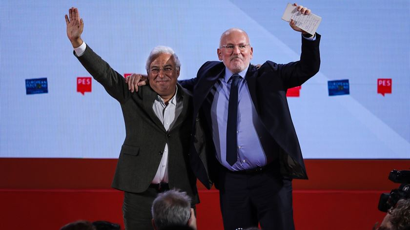 António Costa no encerramento do Congresso do Partido Socialista Europeu (PSE), em Lisboa - Reportagem de Paula Caeiro Varela