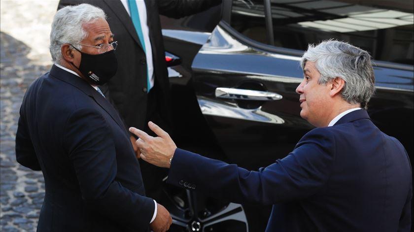 """António Costa: Lei para travar Centeno no Banco de Portugal é """"inadmissível num Estado Direito"""""""