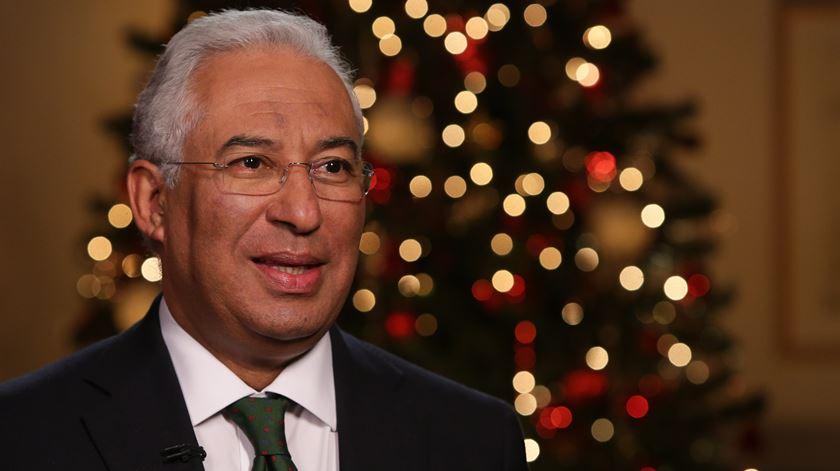 Mensagem de Natal do primeiro-ministro a íntegra