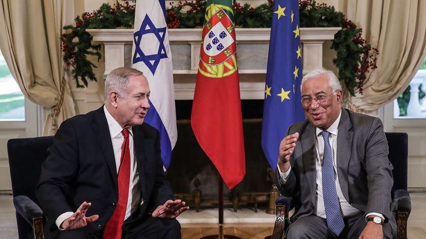 Costa e Netanyahu analisam formas de cooperação na investigação científica