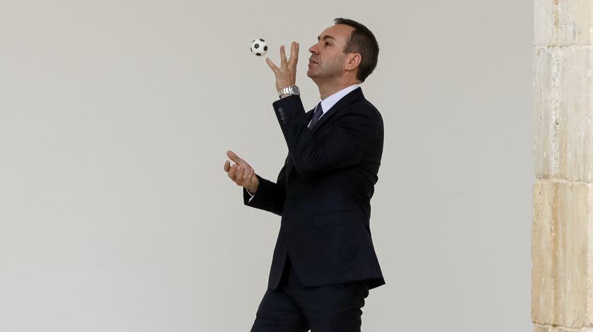 António Salvador não esconde desilusão após eliminação da Liga Europa