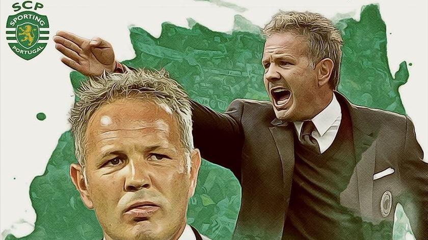 """O que é um """"grande presidente"""" para o novo treinador do Sporting?"""