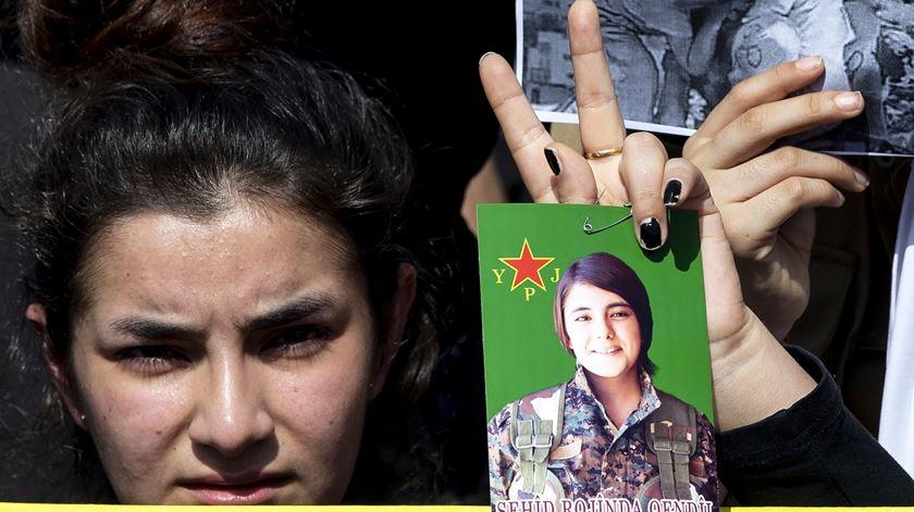 No nordeste da Síria a bola está agora do lado dos curdos