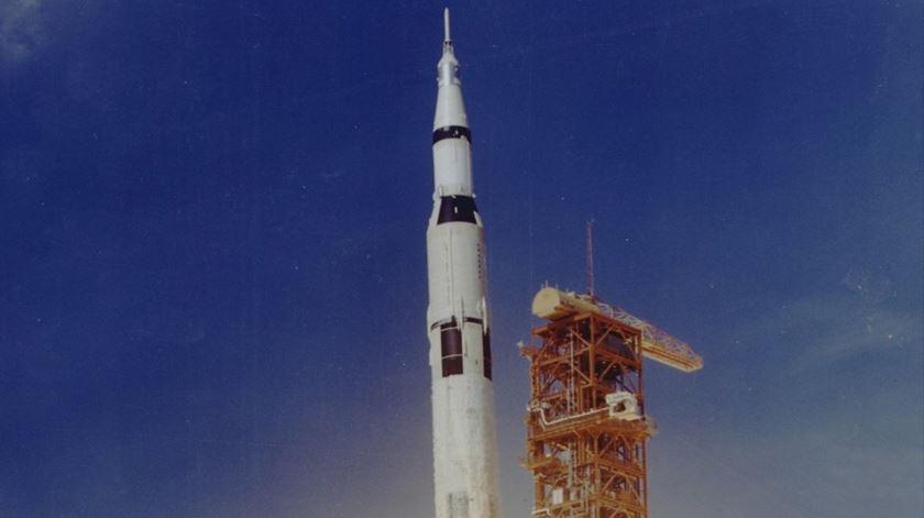 """""""Saturno V"""" Foto Flickr by Nasa."""