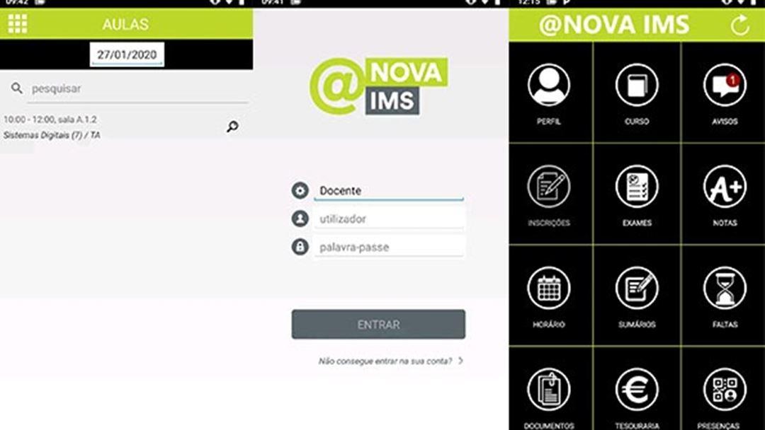 App criada pela Universidade Nova de Lisboa no contexto da pandemia de Covid-19. Foto: Joana Gonçalves/RR