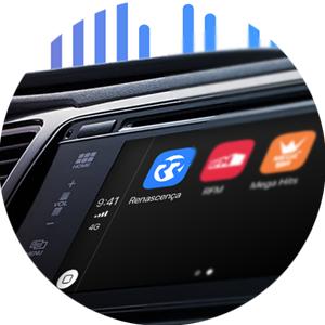 A emissão da Renascença e todos os podcasts agora também no seu carro