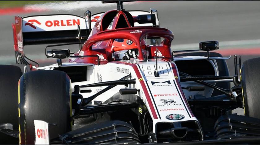 Piloto de testes da Alfa Romeo mais rápido no primeiro dia em Barcelona