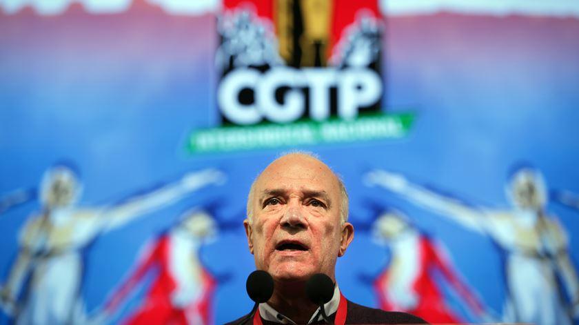 CGTP. Arménio Carlos surpreendido com proposta de condecoração feita por António Costa
