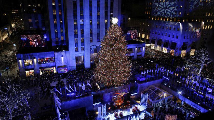 Em Nova Iorque tudo é XXL. Até a solidariedade natalícia