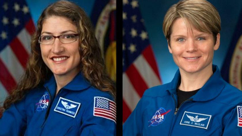 Vem aí a primeira caminhada espacial 100% feminina