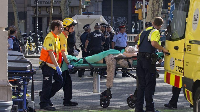 António Costa recorda vítimas do atentado de Barcelona
