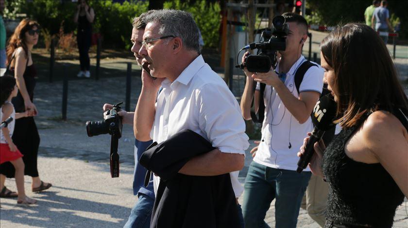 Inácio esclarece que não está de saída do Sporting. Foto: Tiago Petinga/Lusa