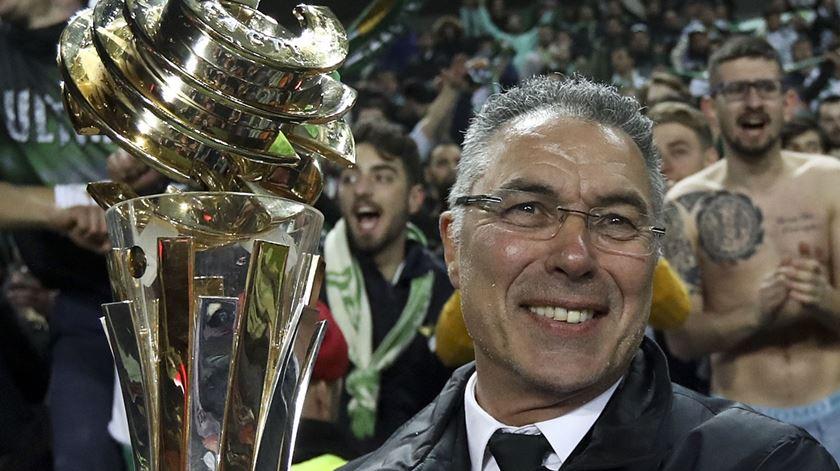Augusto Inácio é o novo treinador do Desportivo das Aves