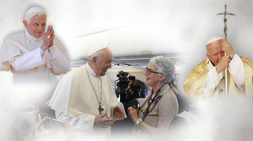 Porta Aberta para Aura Miguel - recordações dos pontificados de Bento XVI e Francisco