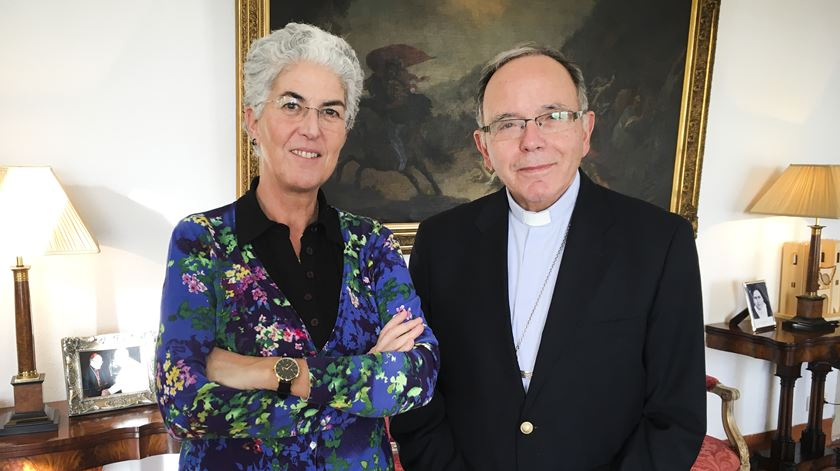 Aura Miguel convida D. Manuel Clemente - 21/01/2018
