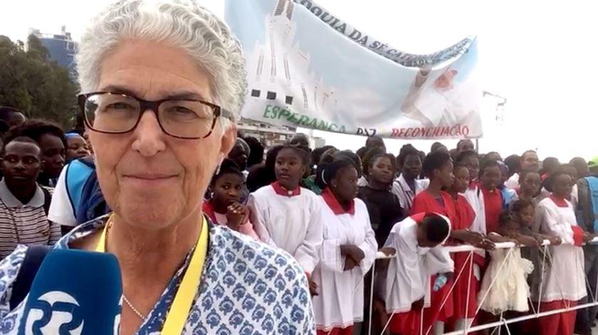"""""""Palavras de paz, reconciliação e esperança"""" no segundo dia de visita do Papa Francisco a Maputo"""