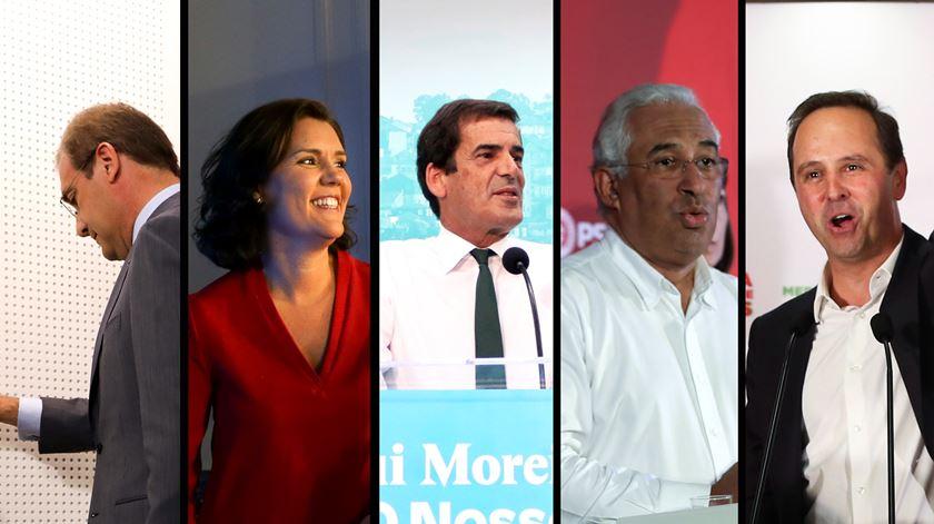 Autárquicas. O terror, a música e o serão esfuziante: cenas de uma noite eleitoral