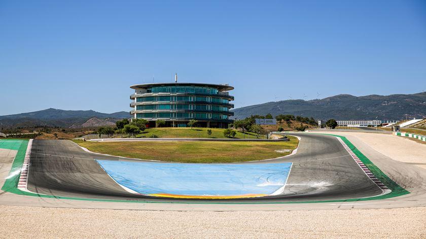 Autódromo Internacional do Algarve receberá lotação limitada. Foto: Filipe Farinha/Lusa
