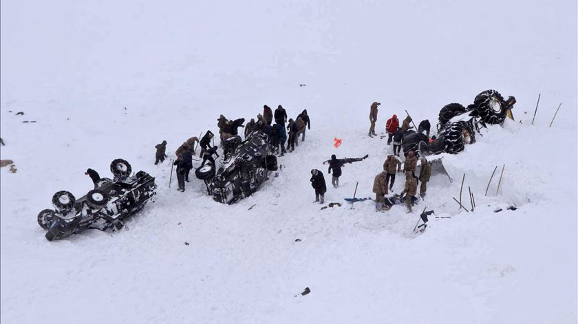 Turquia. Dupla avalanche causa, pelo menos, 38 mortos