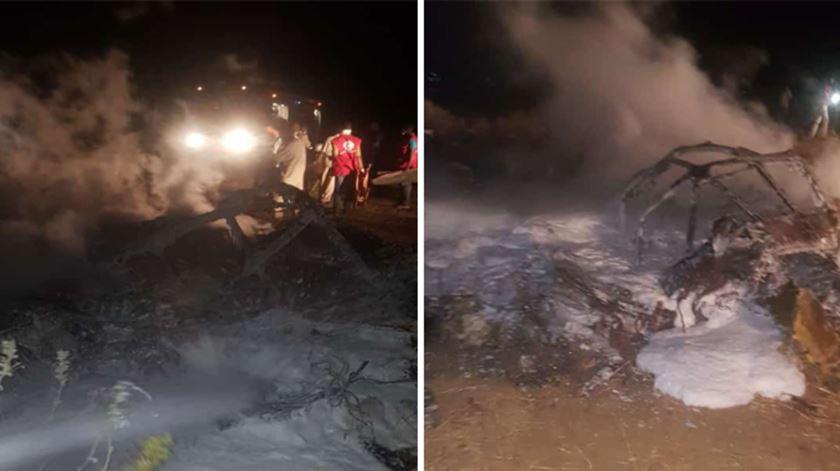 Avião militar com ajuda humanitária cai no Sudão e faz 18 mortos