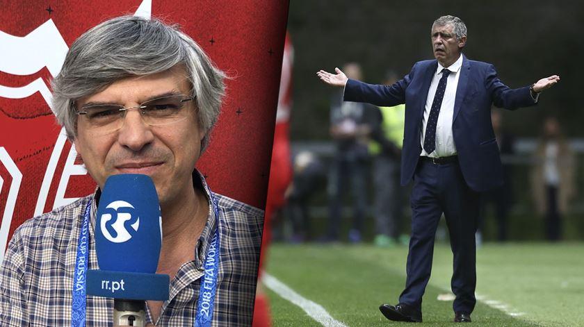 Fernando Santos quer equipa mais consistente contra Irão de Carlos Queiroz