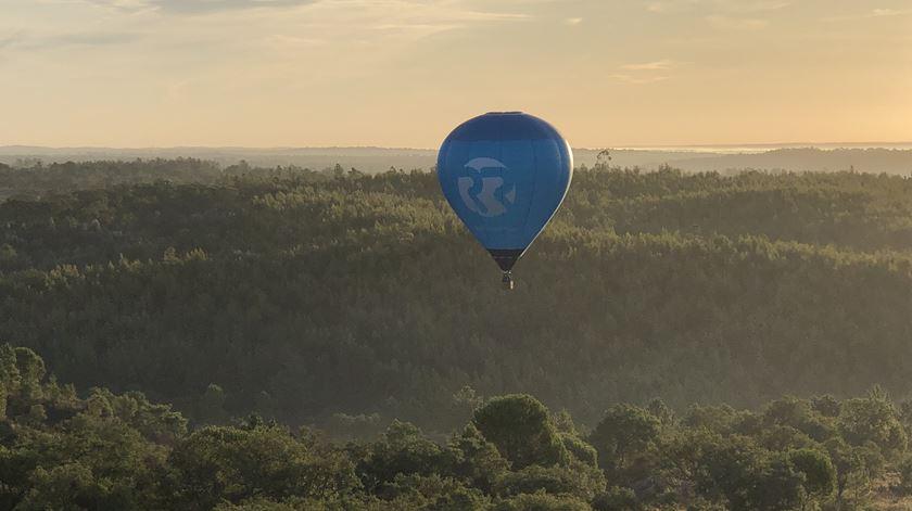 Balão de ar quente da Renascença nos céus de Coruche Foto: Windpassenger