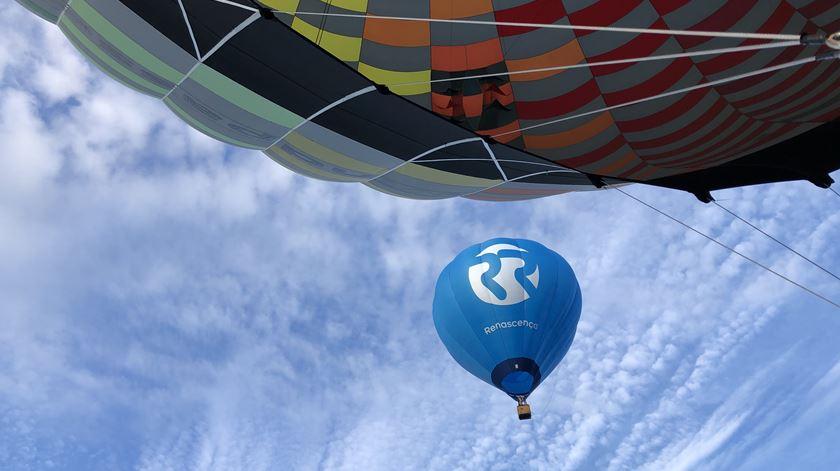 Balão de ar quente Renascença, em Coruche Foto: Windpassenger