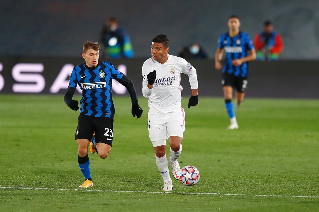 Inter de Milão e Real Madrid são dois dos clubes findadores da Superliga Europeia Foto: Mutsu Kawamori/AFLO Pictures/Reuters