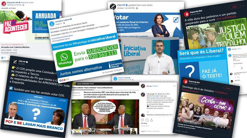 A batalha das legislativas nas redes sociais. O amadorismo (ainda) é quem mais ordena