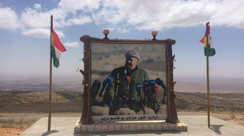 Barzani espera vir a liderar um Curdistão independente. Mas caminho não será fácil. Foto: Facebook Mohammedali Taha