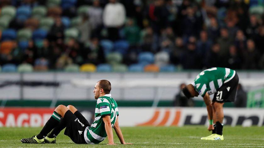 Sporting empata em Villarreal e diz adeus à Liga Europa