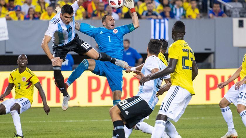 Battaglia fez os 90 minutos no empate a zero frente à Colômbia. Foto: Corey Sipkin/EPA