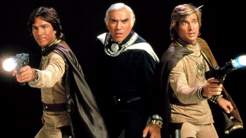 Série de ficção Battlestar Galactica mais perto de ser ultrapassada pela realidade. Foto: DR