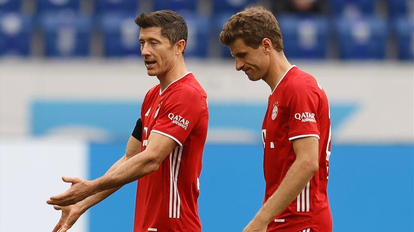 Estranho, mas é verdade: Bayern goleado