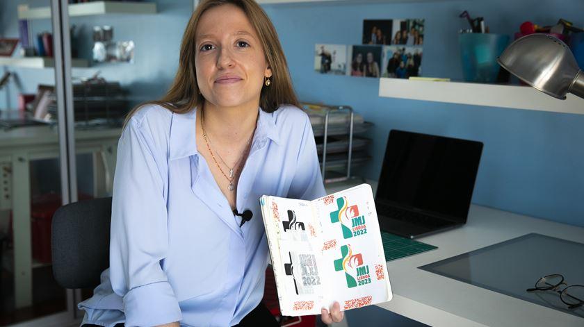 Designer portuguesa é a autora do logo da Jornada Mundial da Juventude 2023