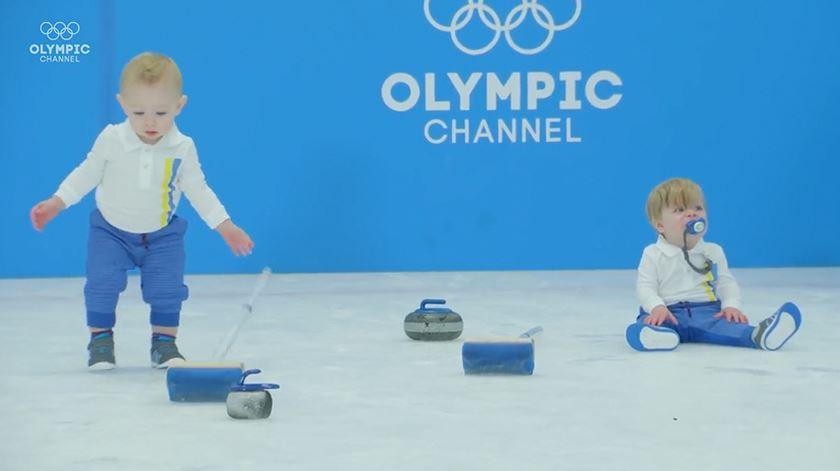 E se os bebés competissem nos Jogos Olímpicos de Inverno?