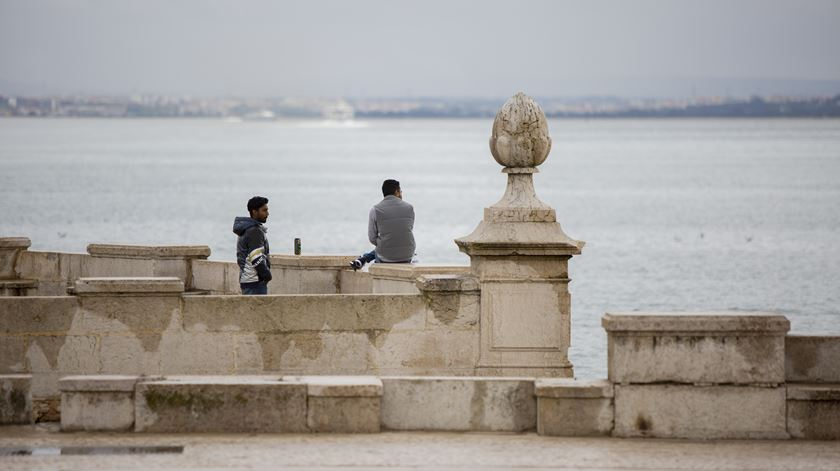 Uma viagem por Lisboa de portas fechadas pelo combate ao coronavírus
