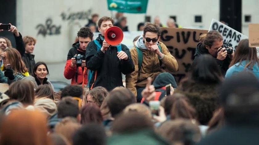 A nova geração de ativistas pelo clima quer ser levada a sério