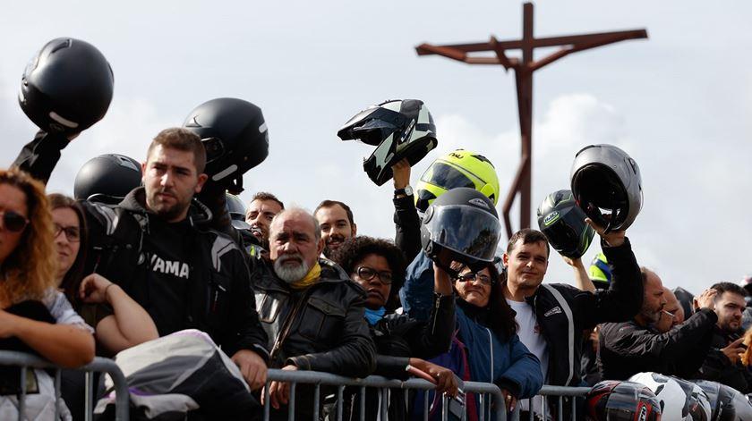 130 mil motociclistas na bênção dos capacetes, em Fátima. Foto: Santuário de Fátima